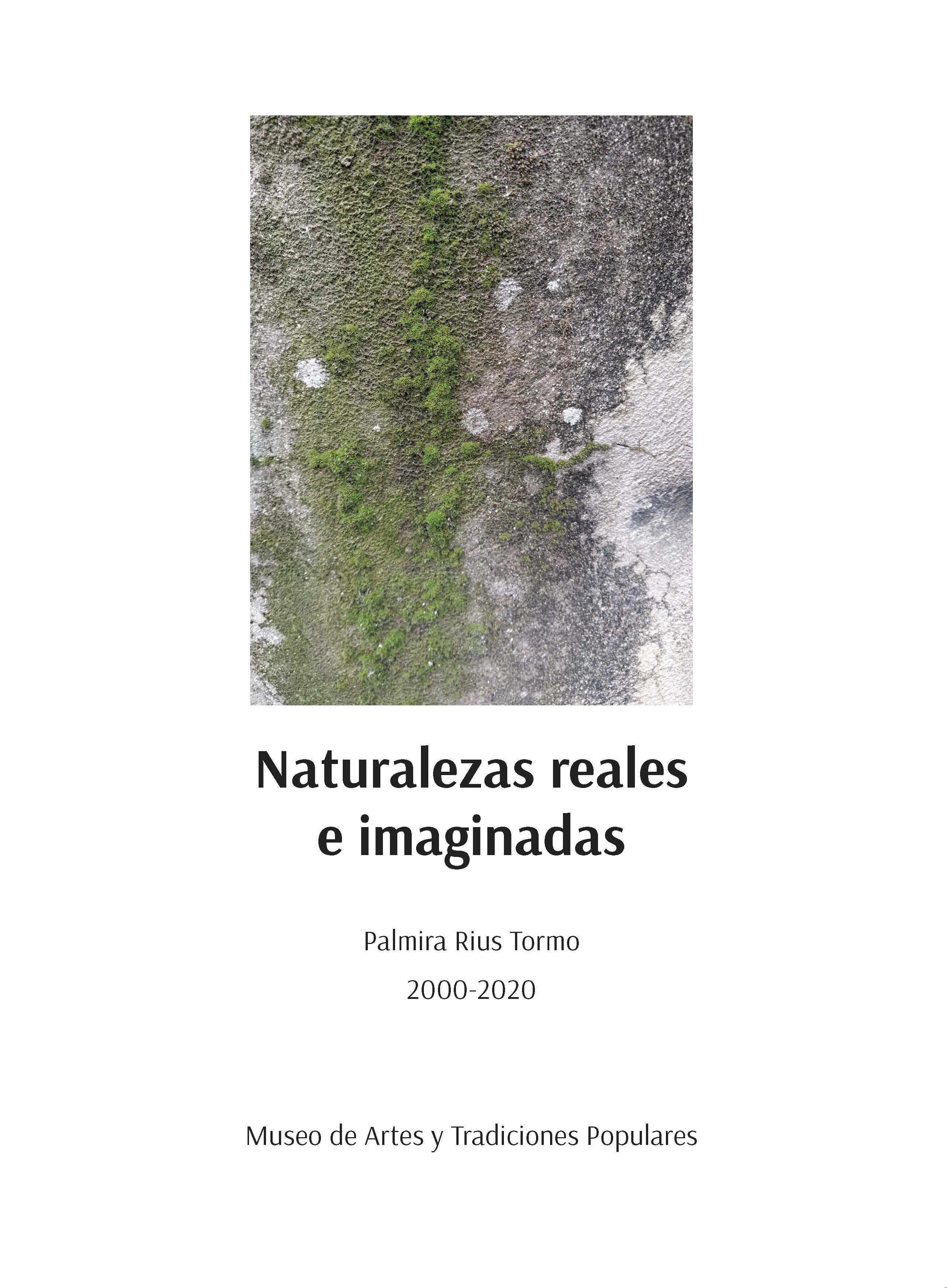 Portada del libro naturalezas reales e imaginadas