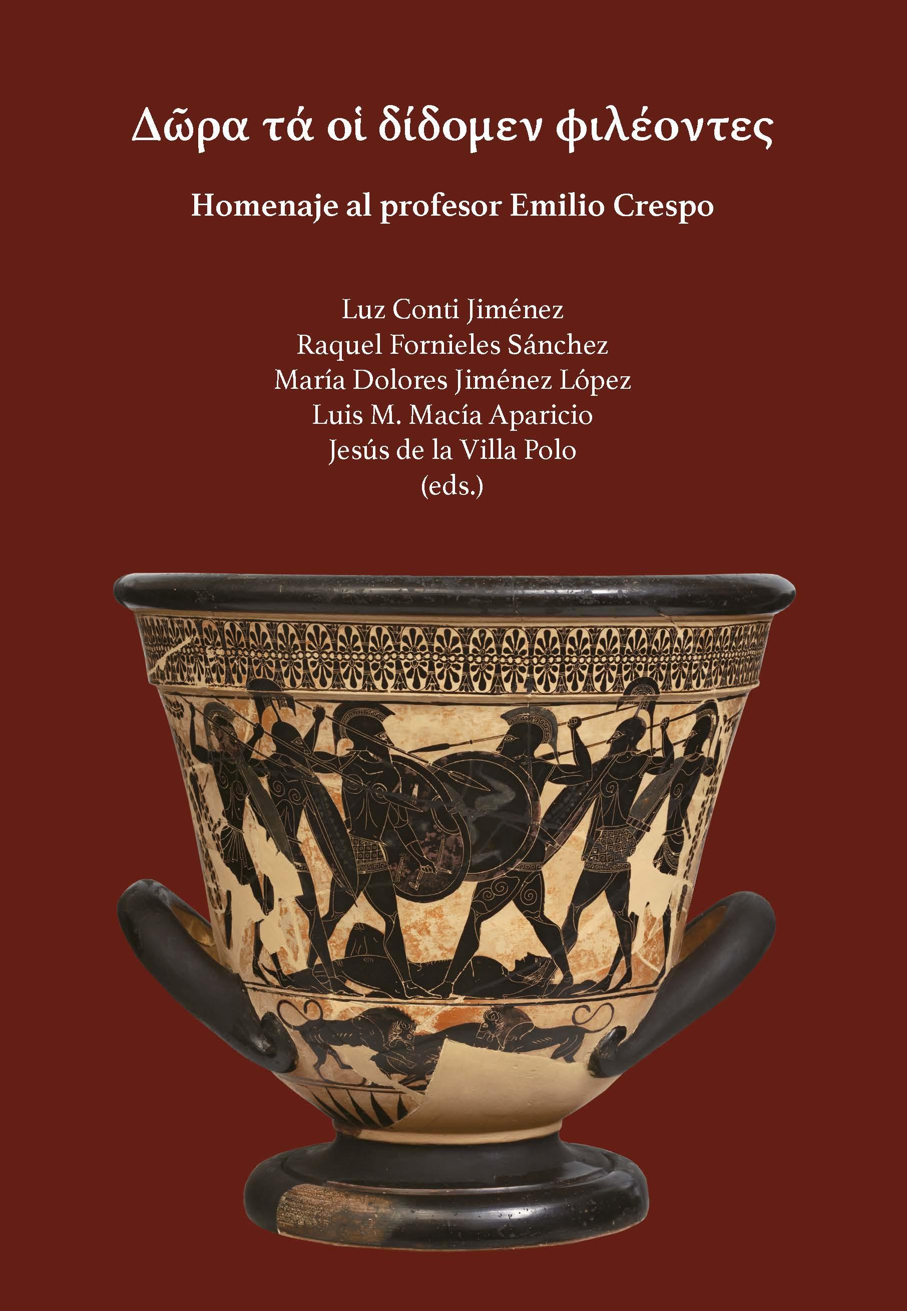 Portada del libro Homenaje al profesor Emilio Crespo