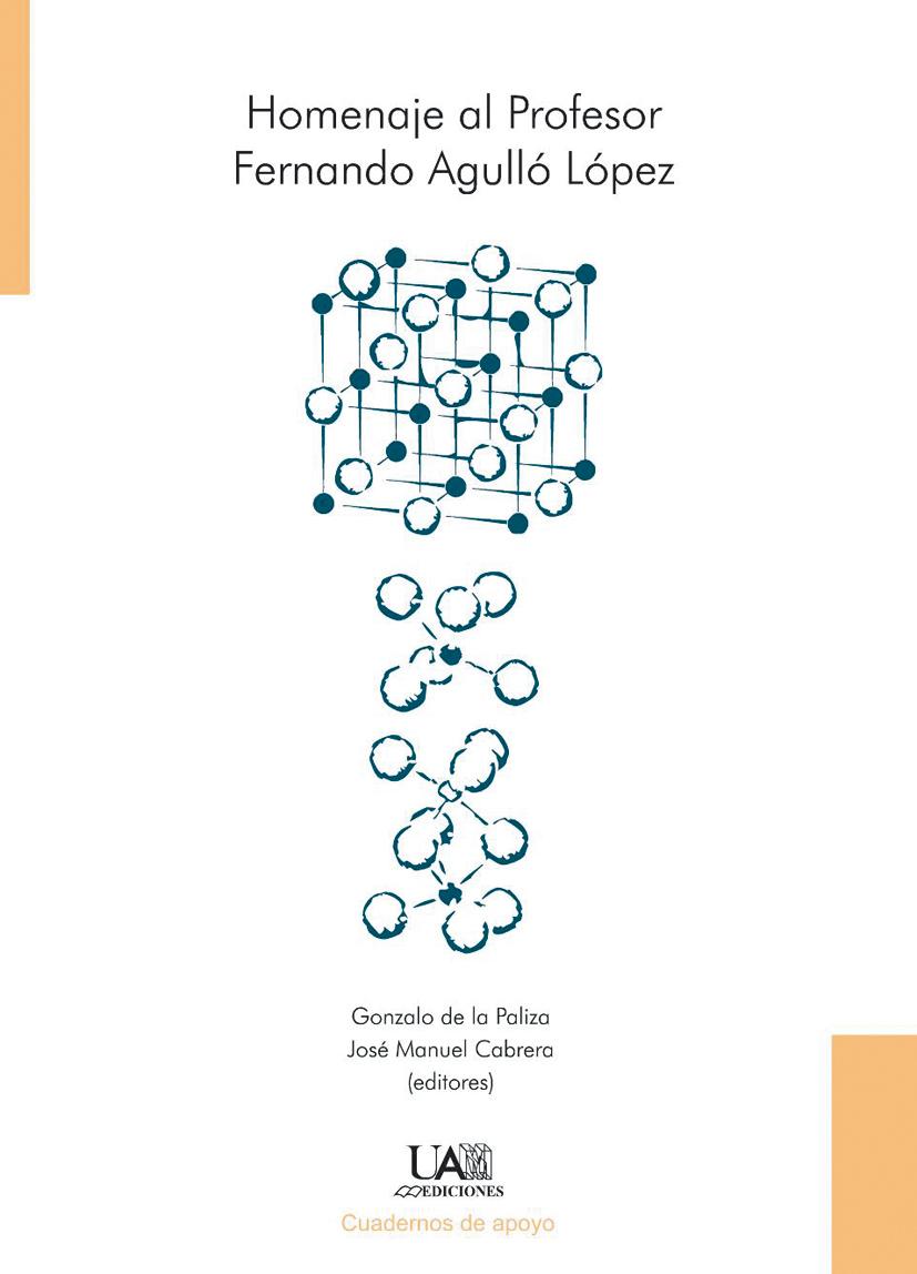 Portada de Homenaje al Profesor Fernando Agulló López