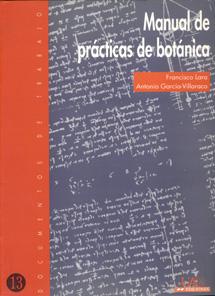 Portada de Manual de prácticas de Botánica