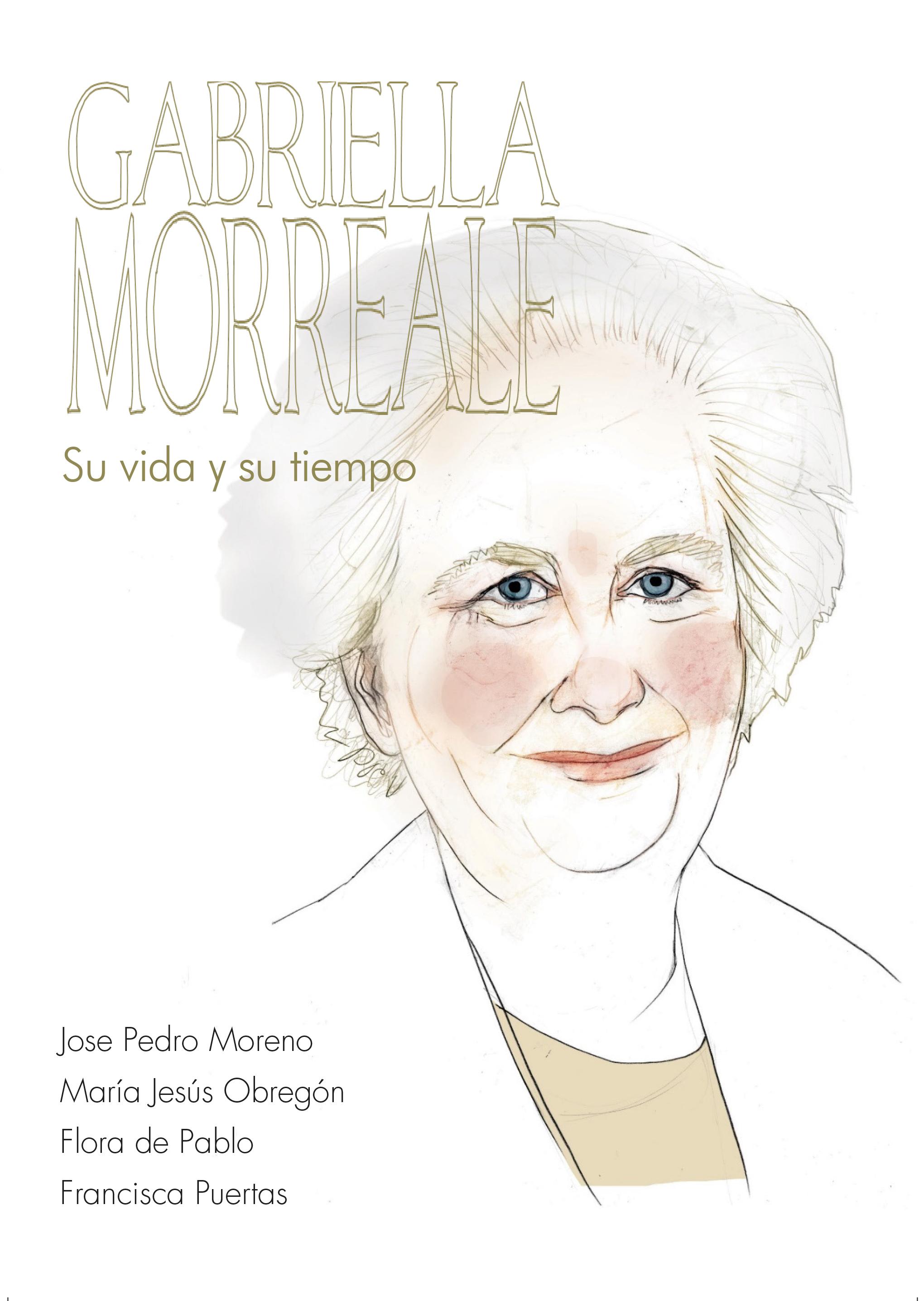 Portada de Gabriella Morreale. Su vida y su tiempo